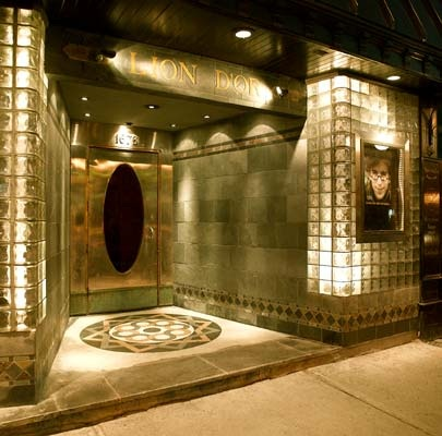 Dinner jazz and art deco at lion d or and au petit extra art deco montreal - Club deco ...